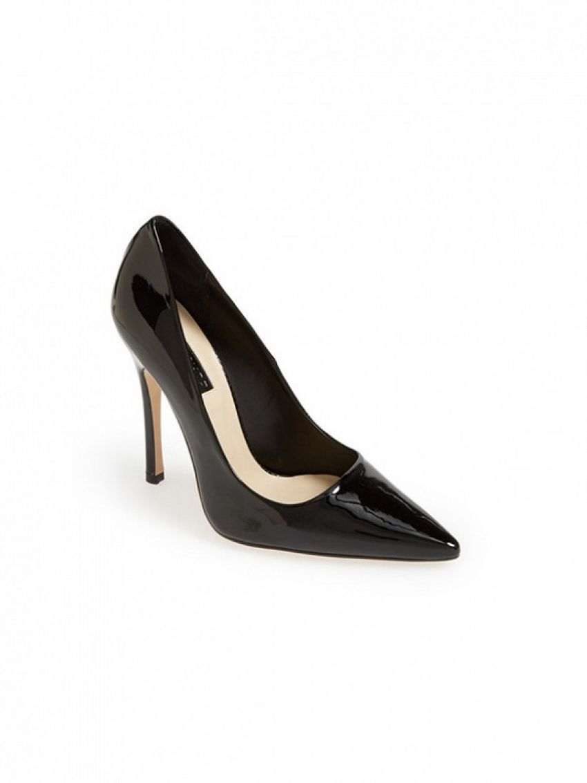 Topshop Gallop Patent Pointy Toe Pumps ($95)