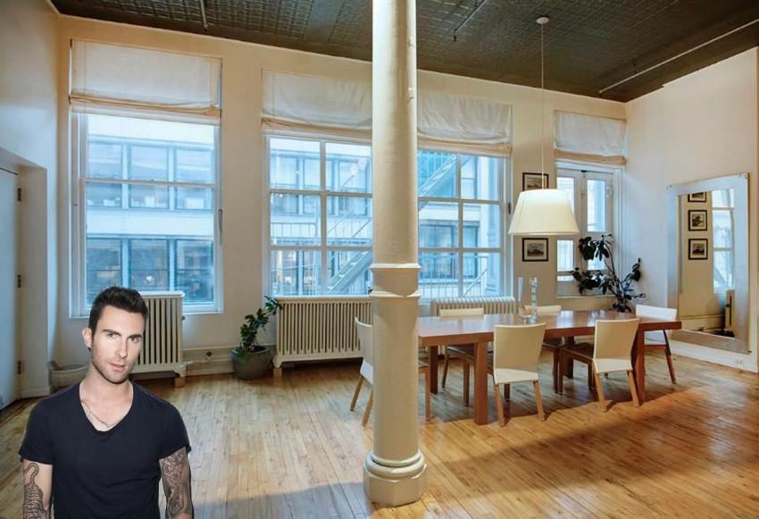 Zavirite u dom seksi pjevača Adama Levinea