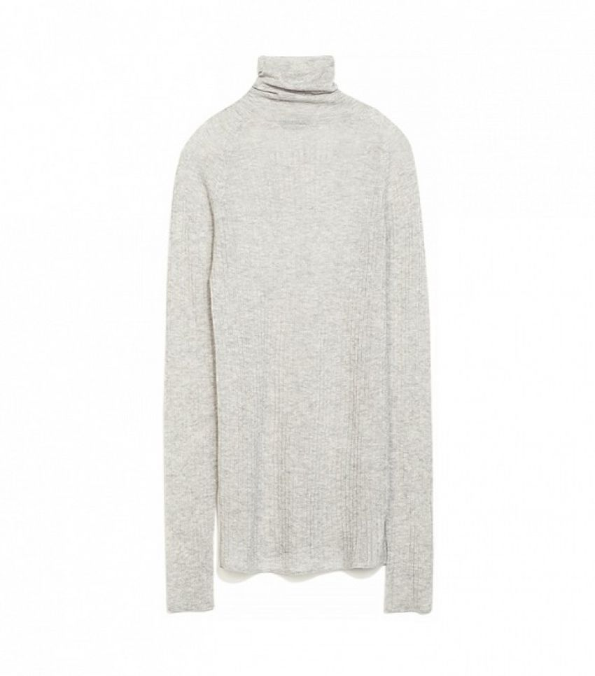 Zara Ribbed Sweater ($80)