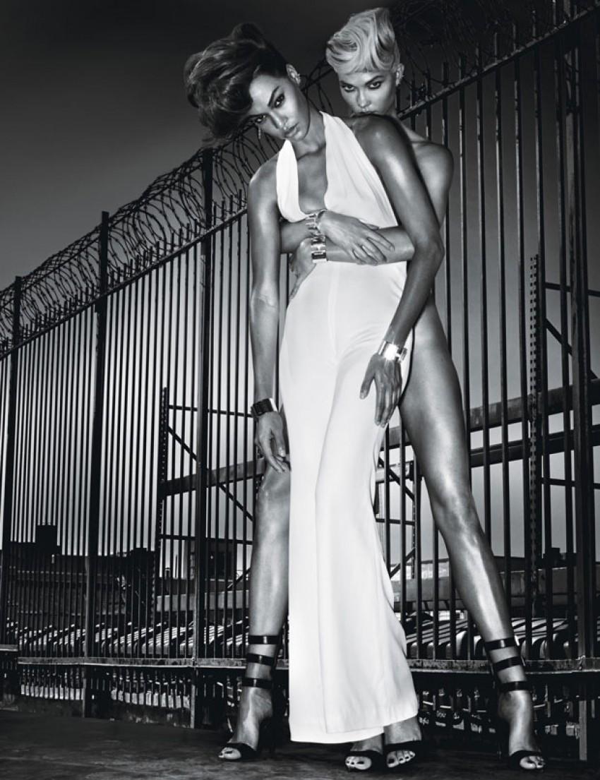 Karlie Kloss i Joan Smalls seksi za W Magazine