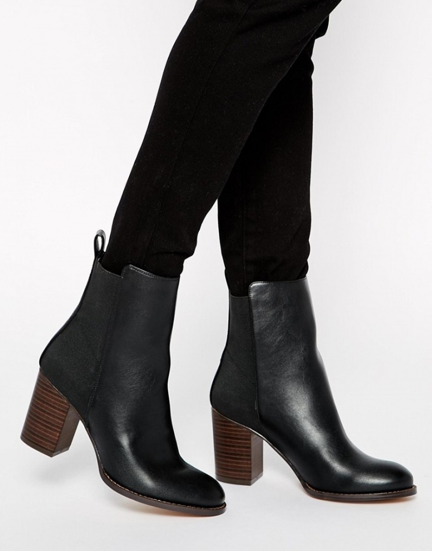ASOS Eight Days A Week Chelsea Ankle Boots