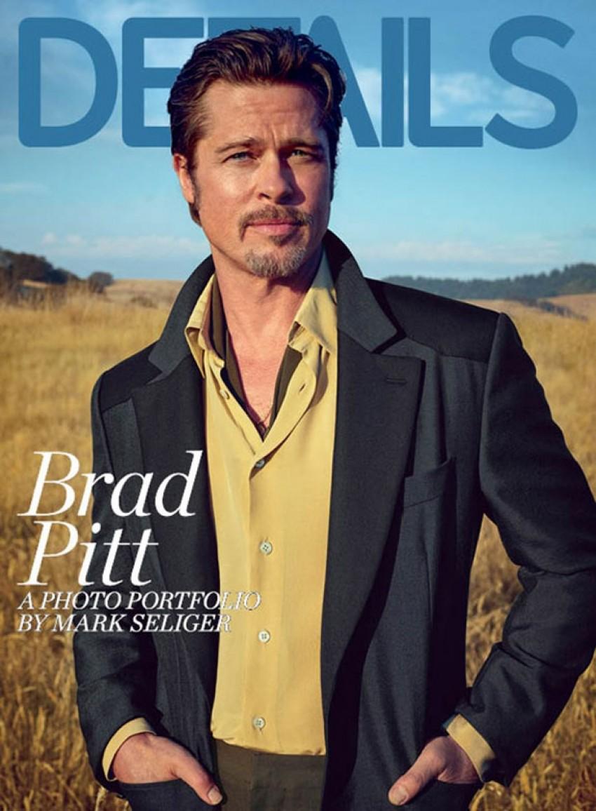 Divlji i razuzdan: Pogledajte nove fotke Brada Pitta
