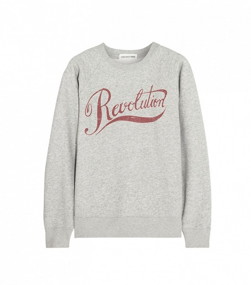 Étoile Isabel Marant Revolution Printed Cotton-Blend Sweatshirt ($270)