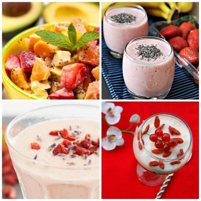 Goji bobice i Chia sjemenke