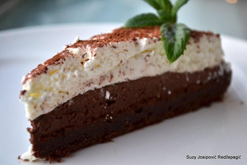 Crno bijela torta