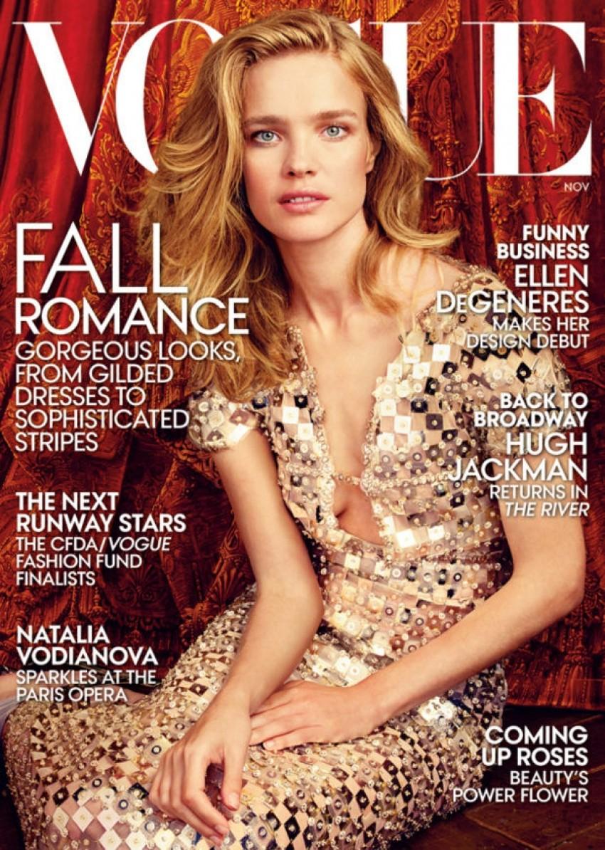 Američki Vogue ponovno stavio manekenku na naslovnicu!