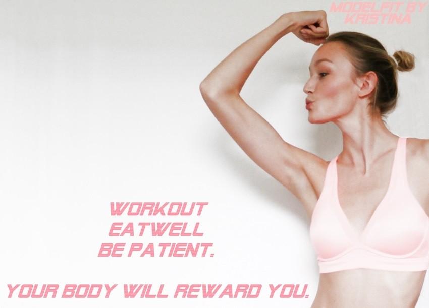 Vježbajte poput modela: Predstavljamo vam K-Fit Modelfit by Kristina!
