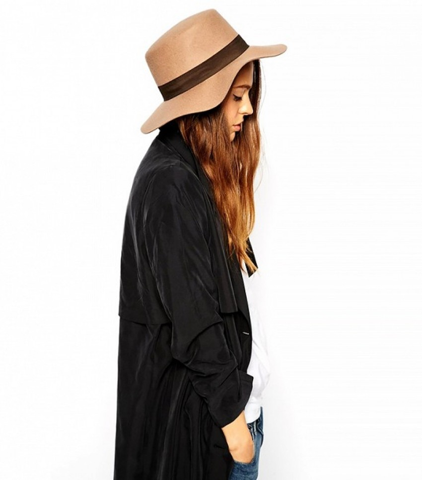 ASOS Matador Felt Hat ($42) in Camel