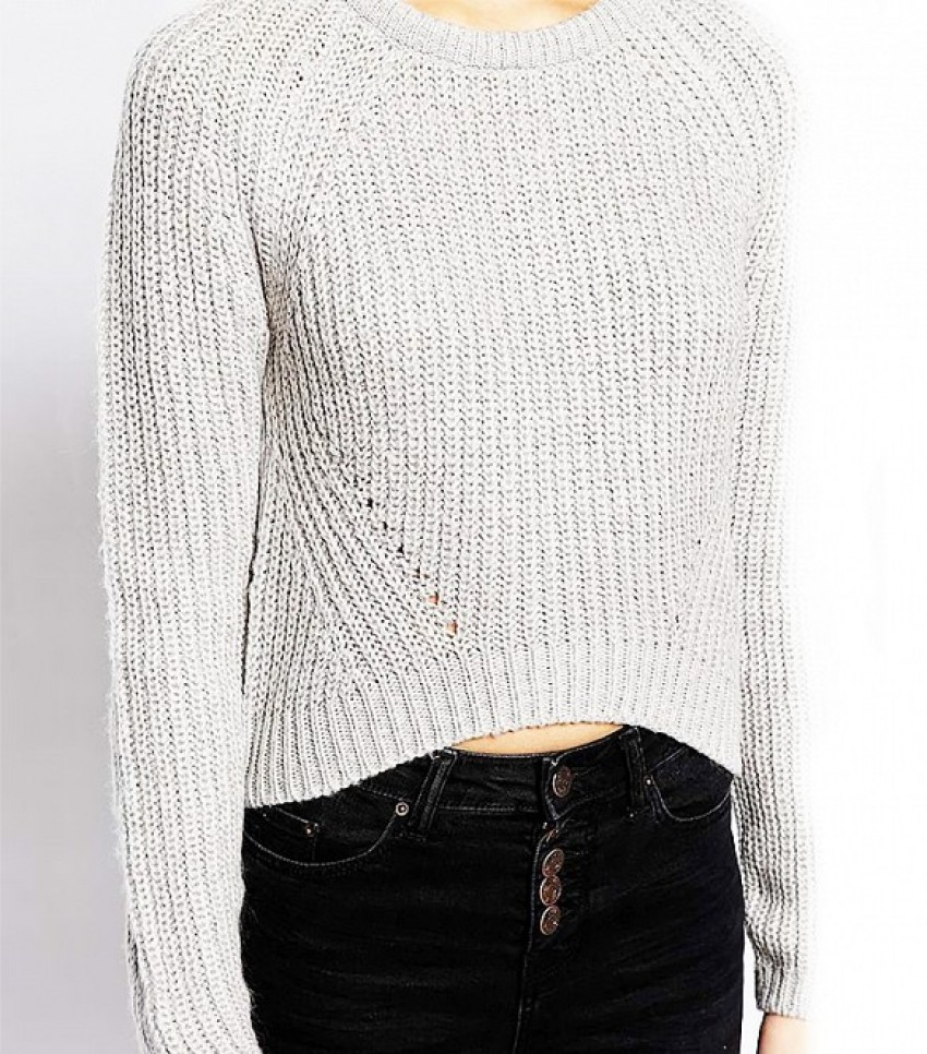 New Look Slouch Crop Sweater ($29)