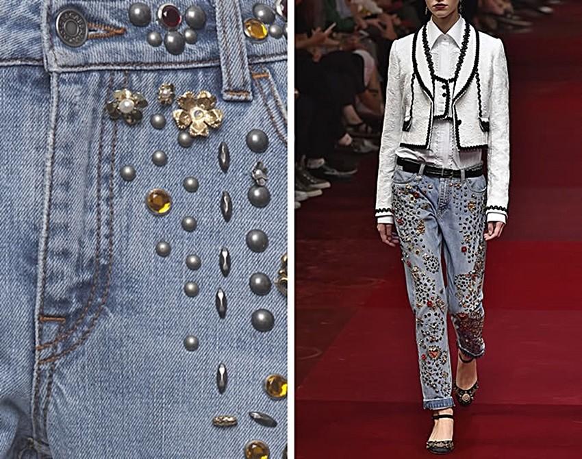 Opsjednuti smo s Dolce & Gabbana trapericama s perlama!