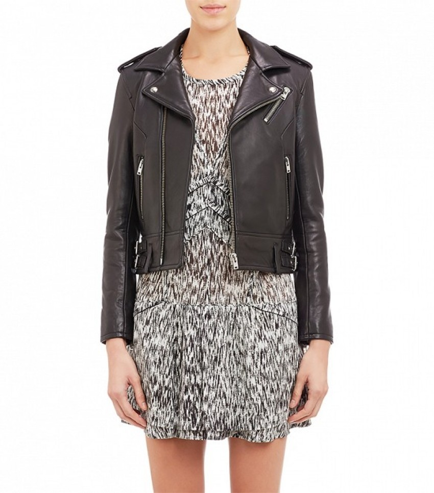 Iro Lambskin Leather Moto Jacket ($1260)
