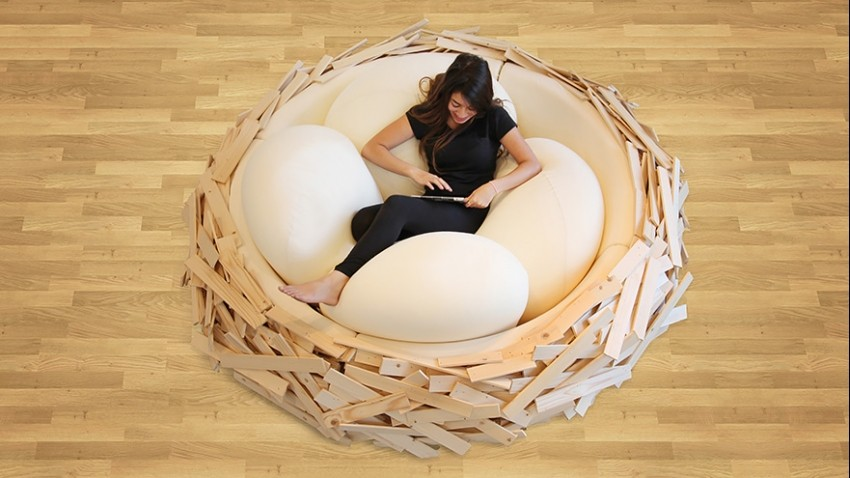 """Giant Birdsnest for creating new ideas"""