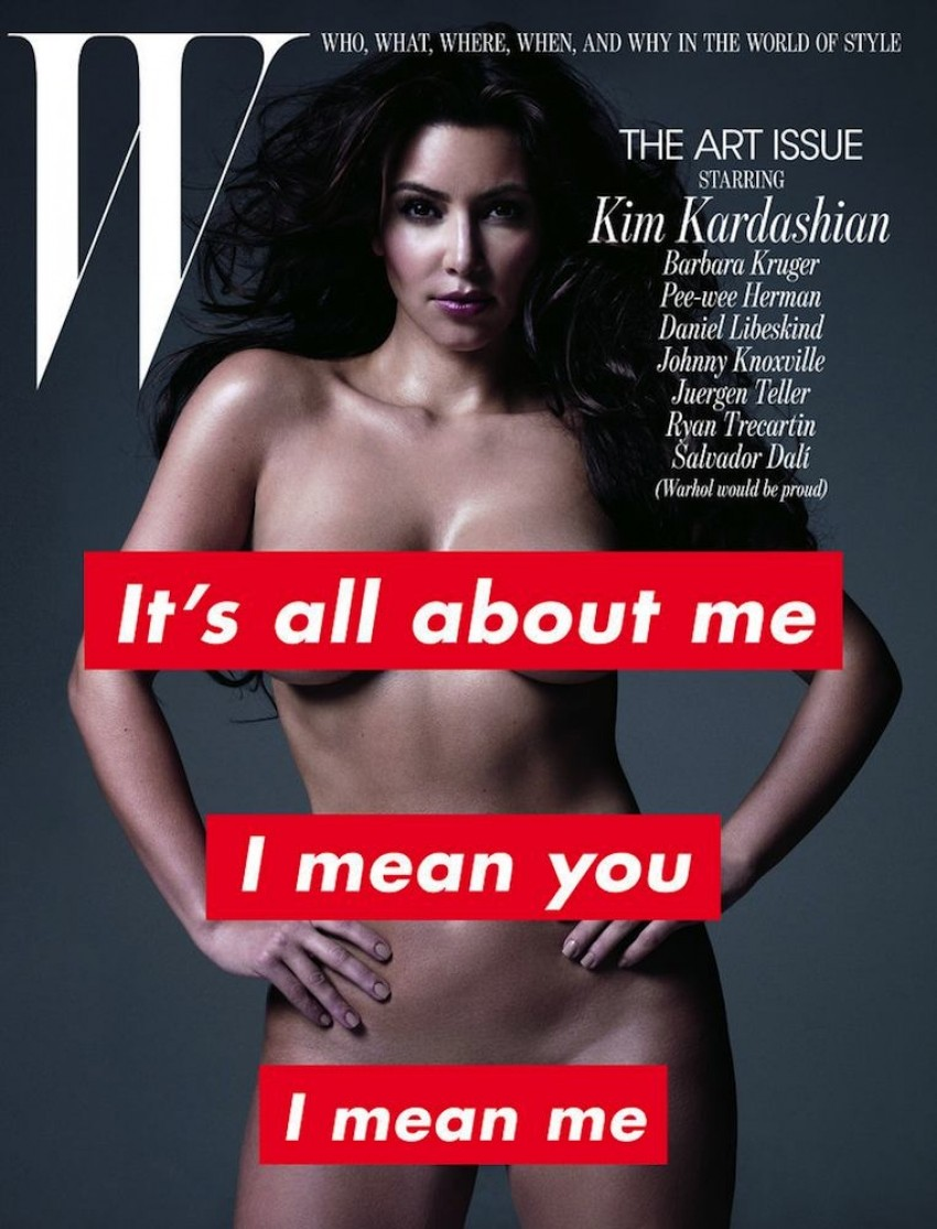 Kim Kardashian za W Magazine