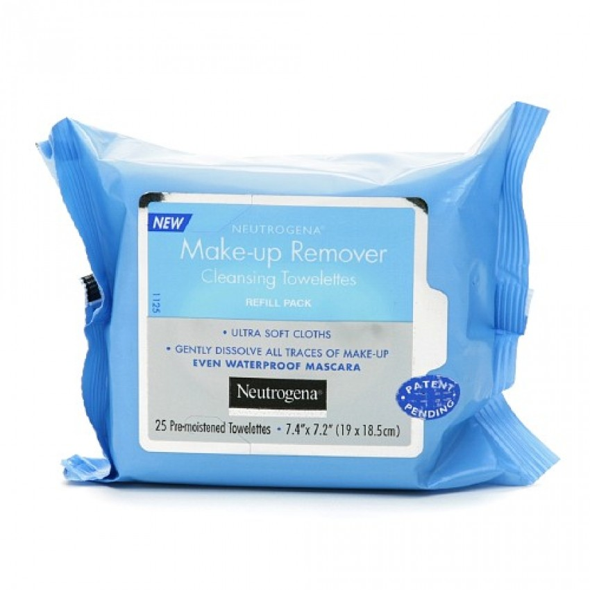 NEUTROGENA MEKE-UP REMOVER CLEANSING TOWELETTES
