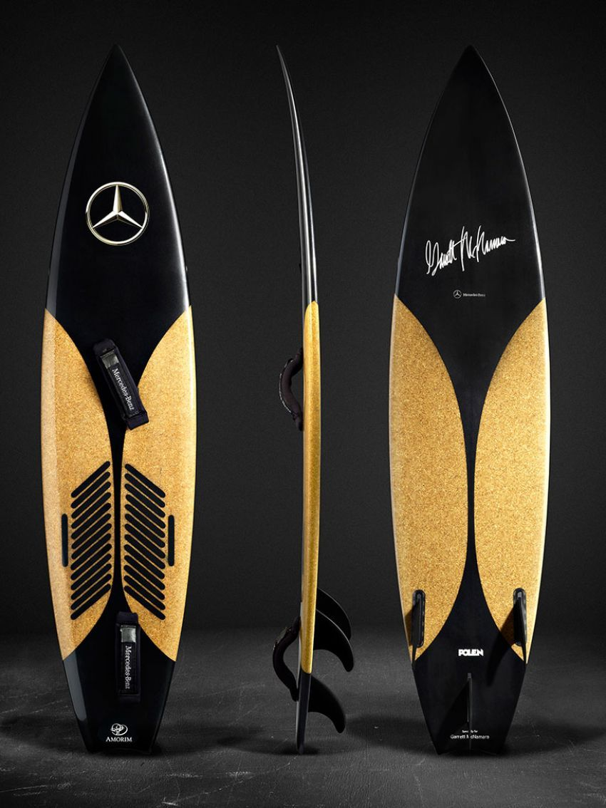 Mercedes-Benz surfboard