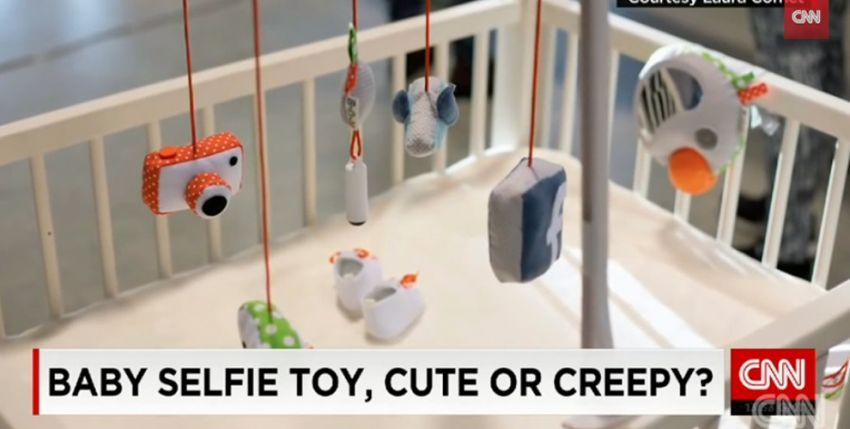 S ovom igračkom i bebe mogu raditi selfije