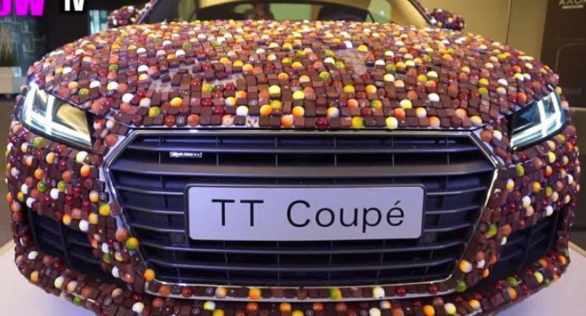 Biste li vozili čokoladnog Audija TT?