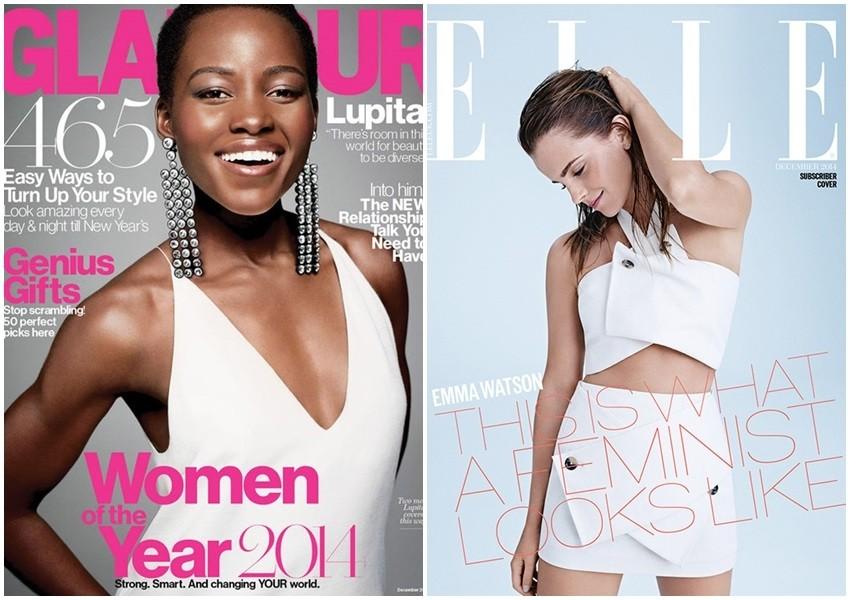Koja glumica bolje nosi bijelo: Lupita Nyong'o ili Emma Watson?