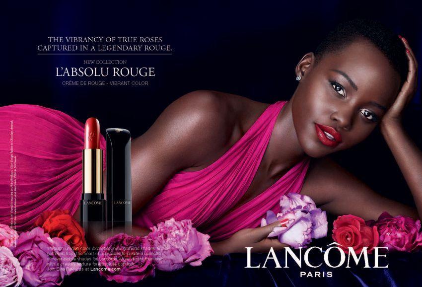 Lupita Nyong'o za Lancome