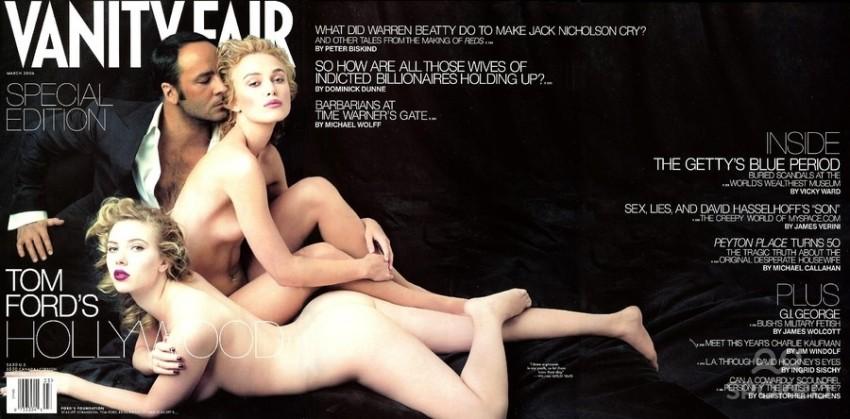 Keira Knightley i Scarlett Johansson za Vanity Fair