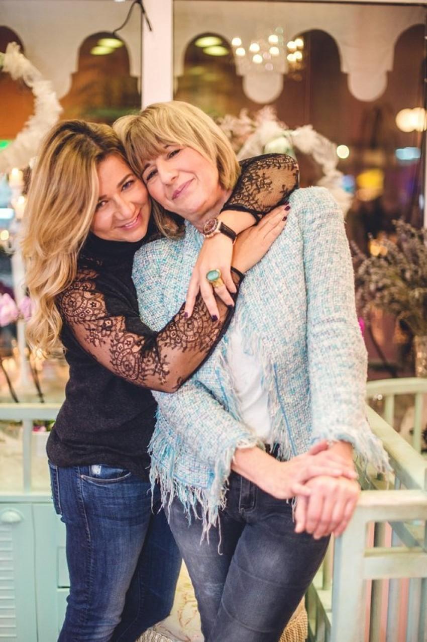 Jasmina Bagarić s mamom Rosandom Jelinić