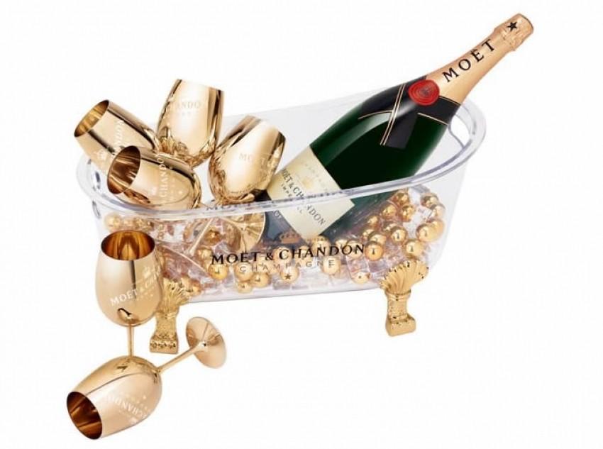 Moët & Chandon predstavio pjenušavu kupku za luksuzno osvježavanje šampanjca