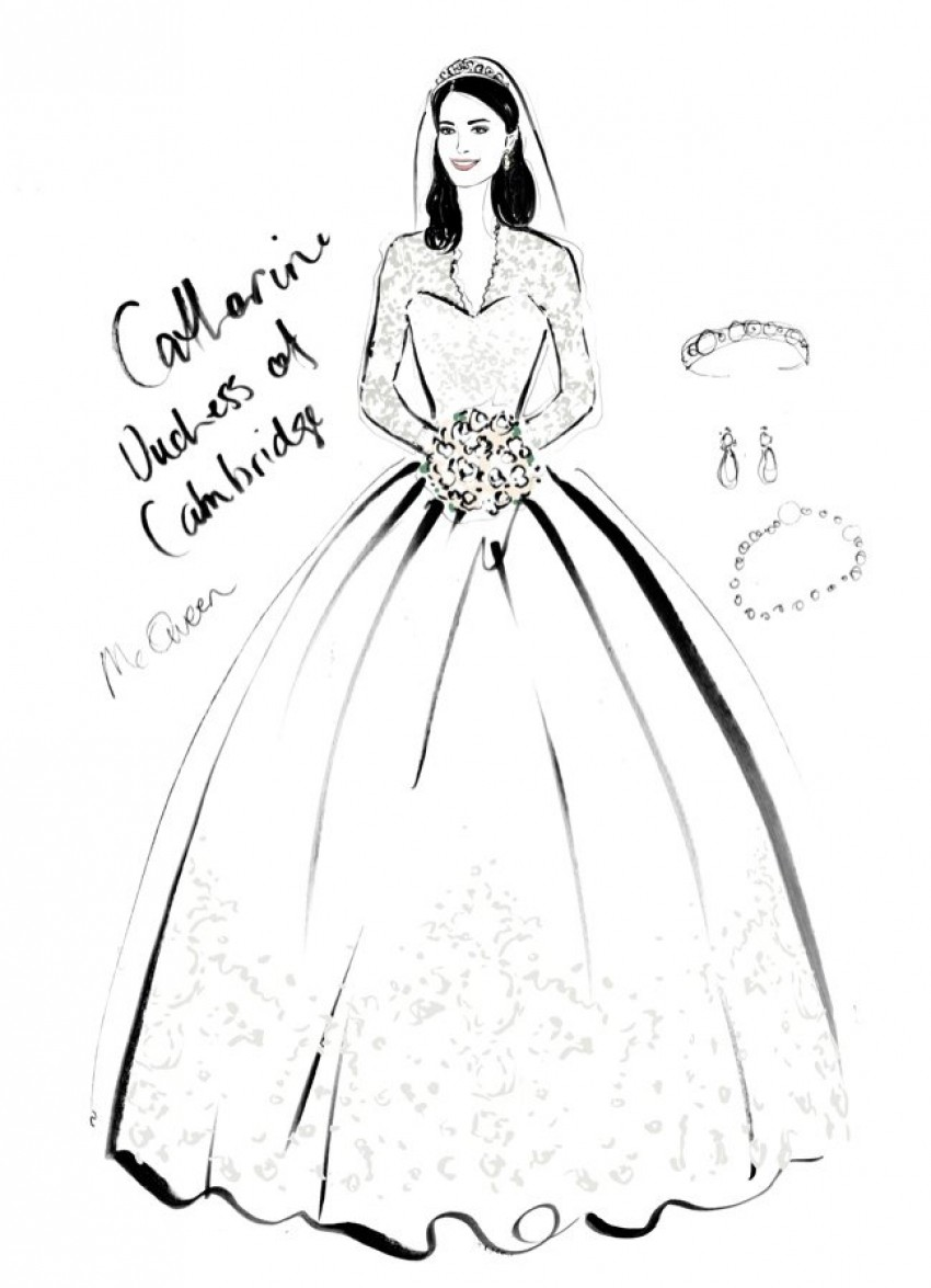 Catherine Duchess of Cambridge Wedding Dress