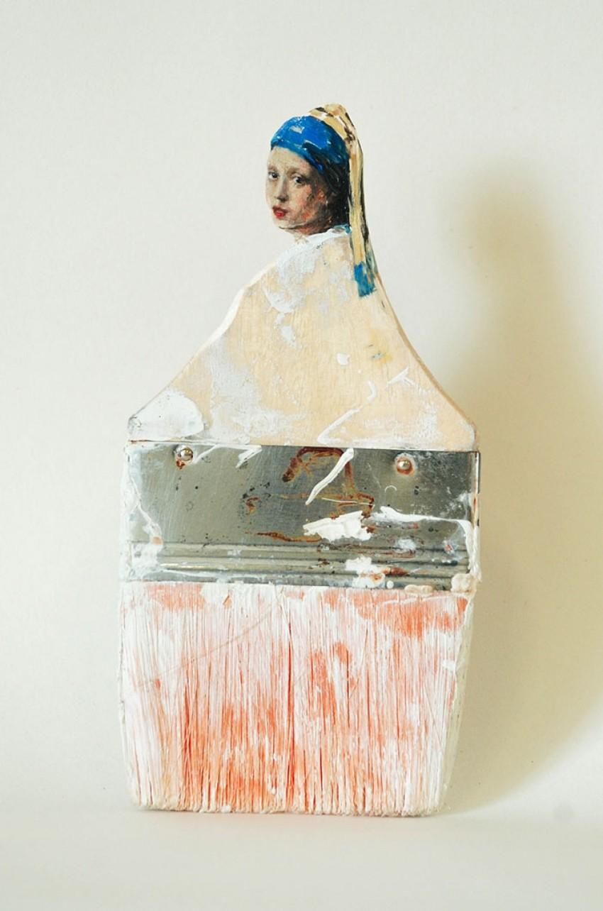 Sve je umjetnost: Pogledajte prekrasne dame napravljene iz starih četki