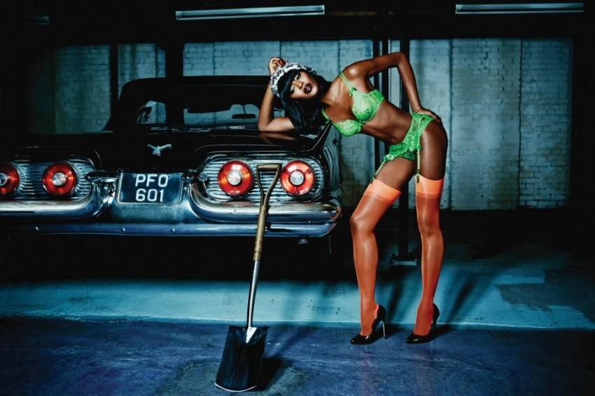 Neopisivo seksi: Naomi Campbell pozirala za Agent Provocateur