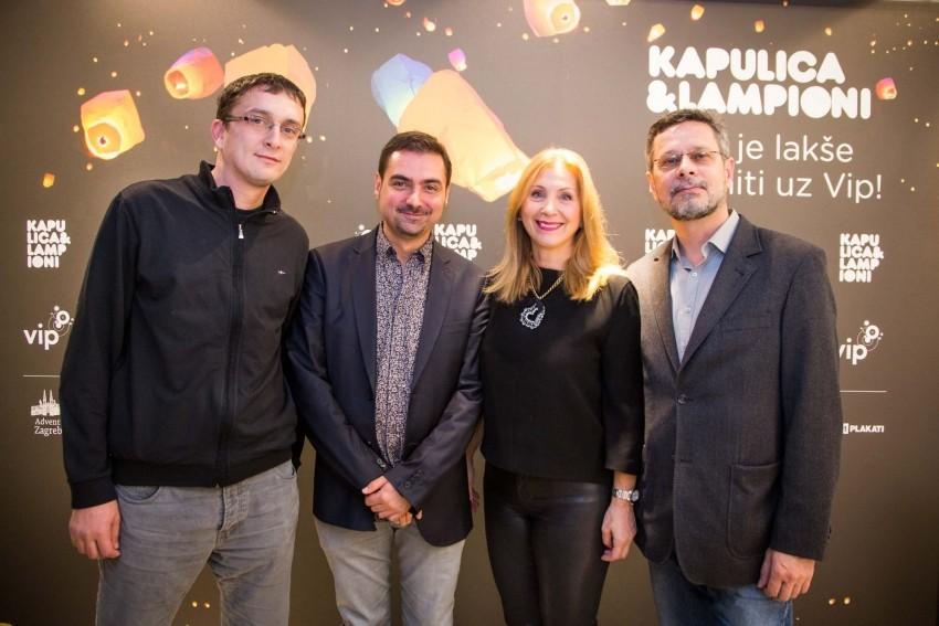 """S press konferencije """"Kapulica&Lampioni – želje je lakše ispuniti uz Vip!"""""""