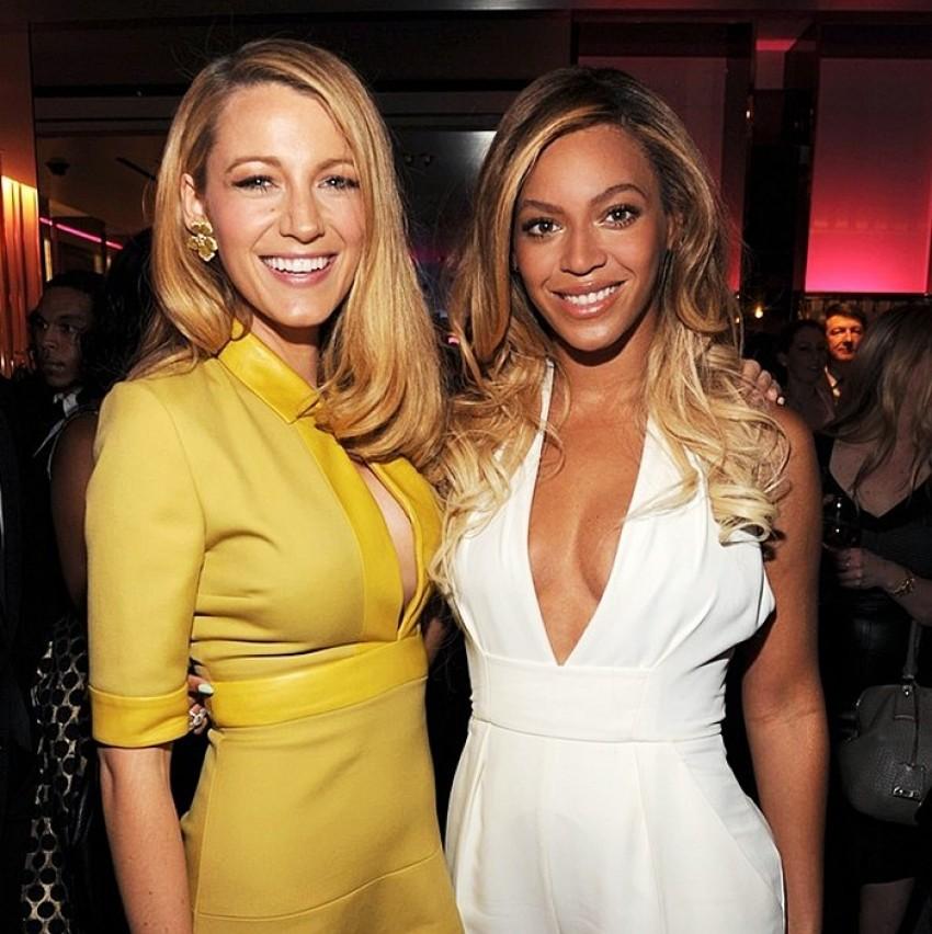 Blake Lively i Beyonce na Gucci eventu