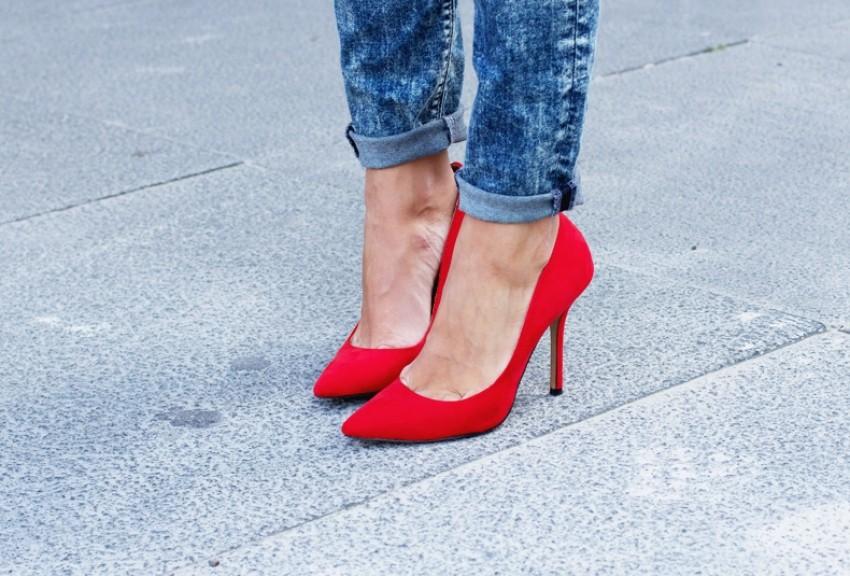 Trend crvenih cipela