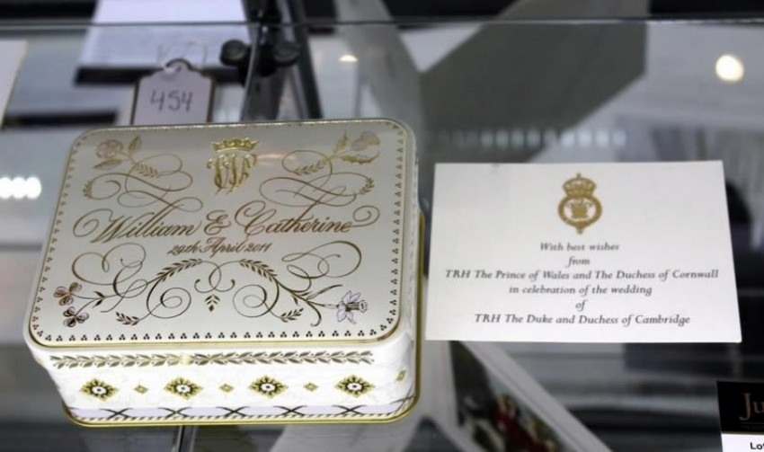 Možete probati komad vjenčane torte Princa Williama i Kate za $6000