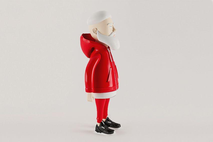 Djed Božićnjak ove godine nosi trendi streetwear!