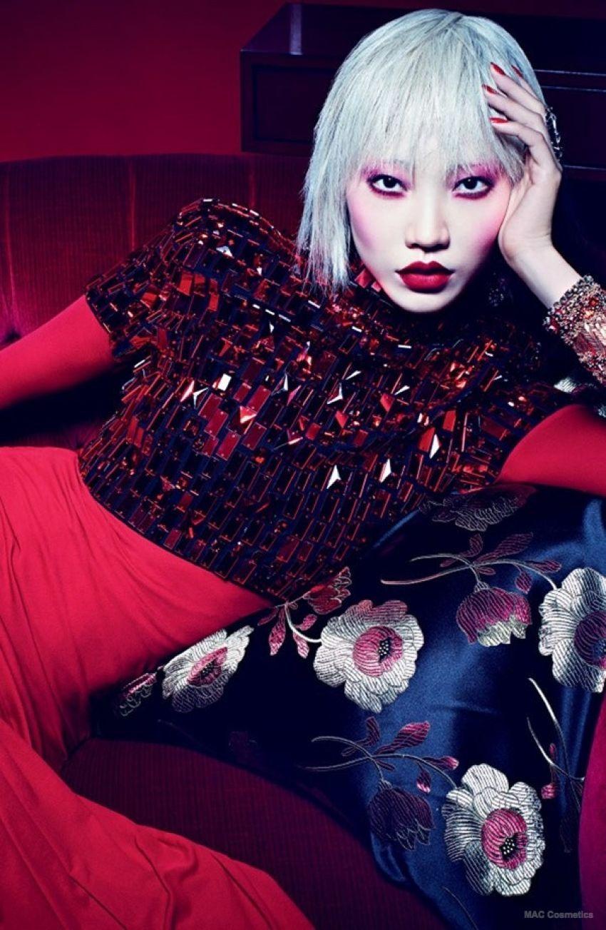 Soo Joo Park za MAC Cosmetics 'Red, Red, Red' kolekciju