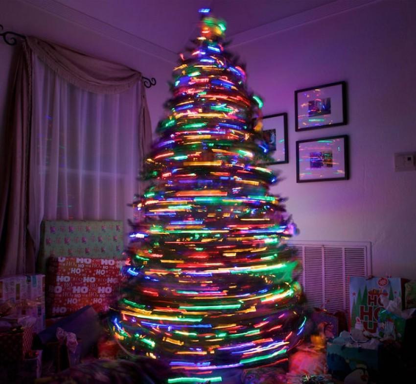 Rotirajuće božićno drvce
