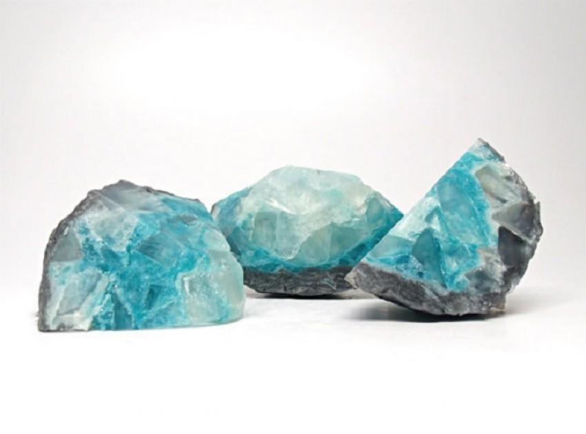 Savršen ukras za kupaonicu: Sapuni u obliku kristala