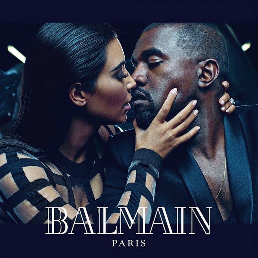 Kim Kardashian i Kanye West zasjali u novoj kampanji za Balmain
