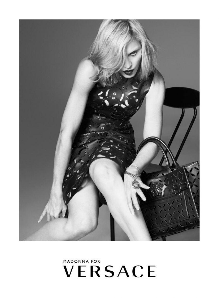 Madonna za Versace 2015