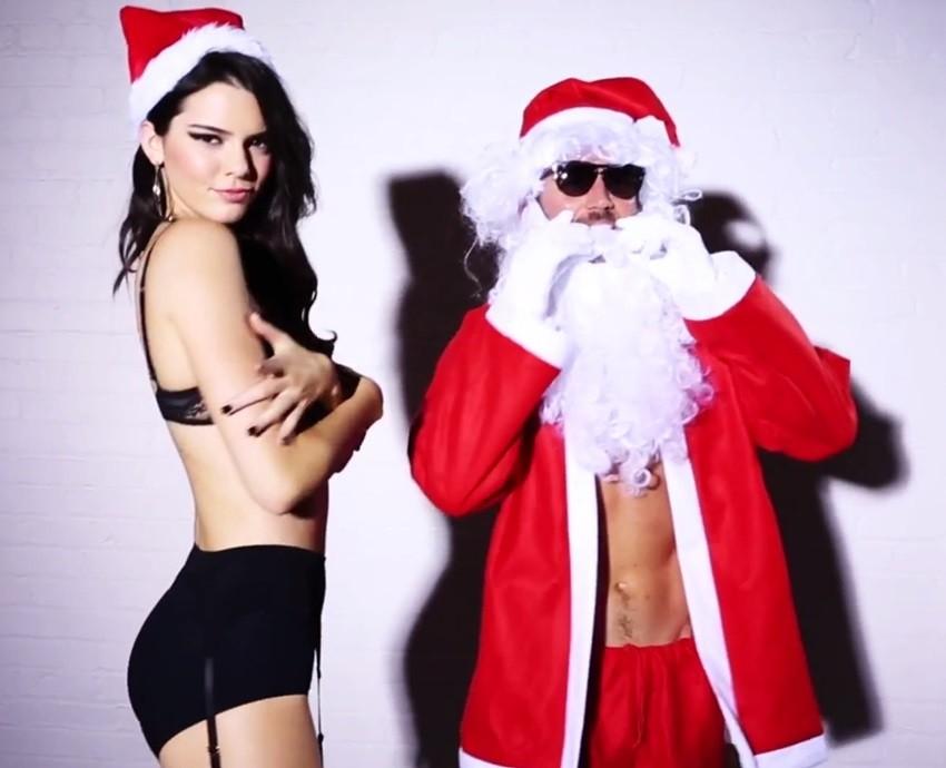 """Kendall Jenner je na """"naughty"""" listi Djeda Božićnjaka"""