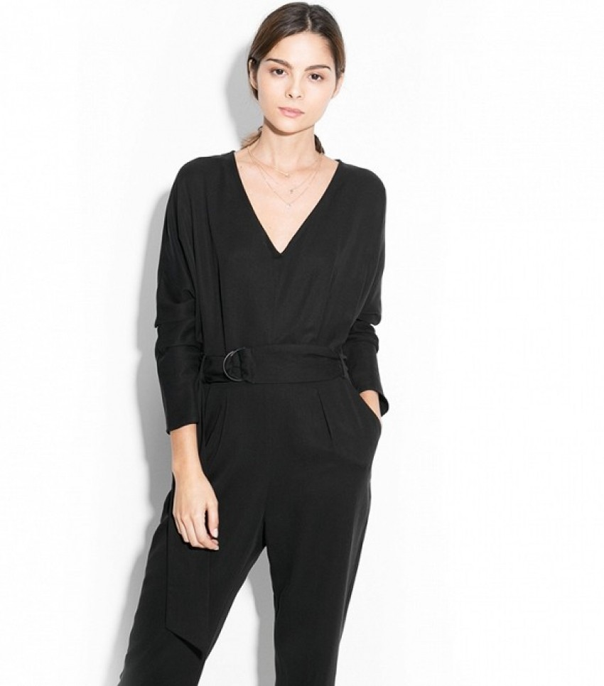 Mango Hoops Tencel Jumpsuit ($59)