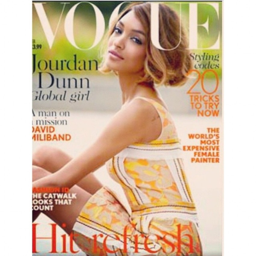 Jourdan Dunn za britanski Vogue