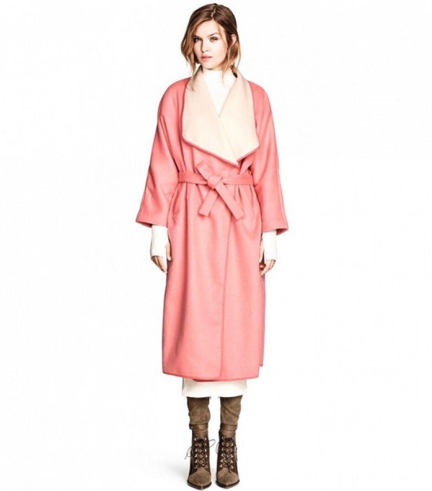 H&M Wool Blend Coat ($75)
