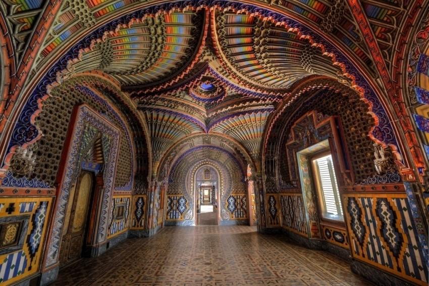 Sammezzano Castle, Tuscany, Italy