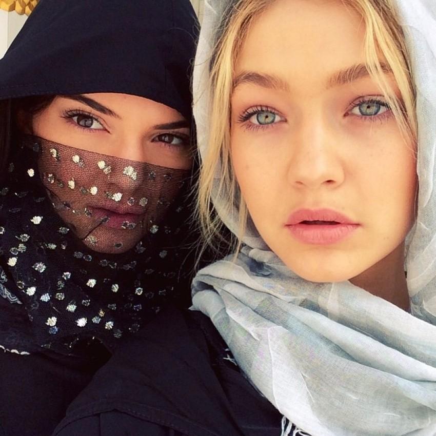 Kendall Jenner i Gigi Hadid