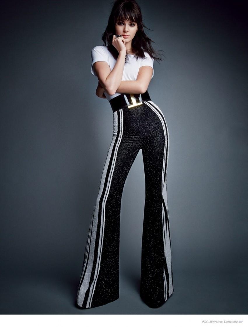Kendall Jenner u dva snimanja