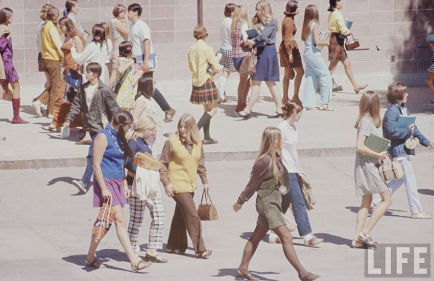 street style iz 1969. amerika