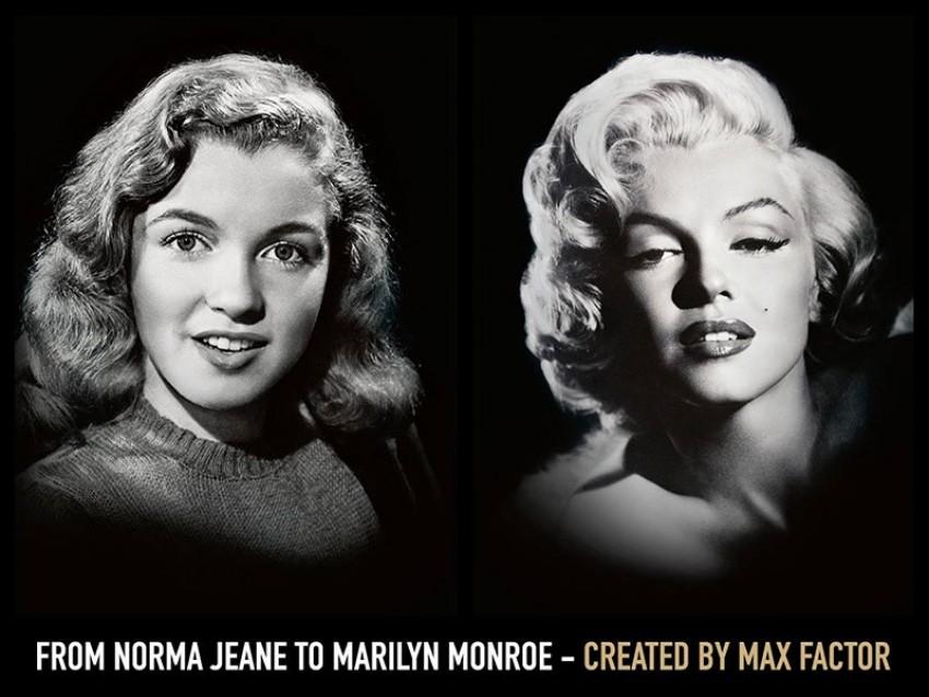 Marilyn Monroe za Max Factor