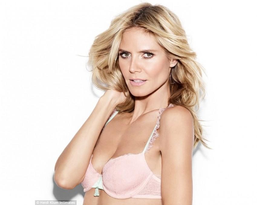 Sexy i u 41: Heidi Klum ima novu liniju donjega rublja