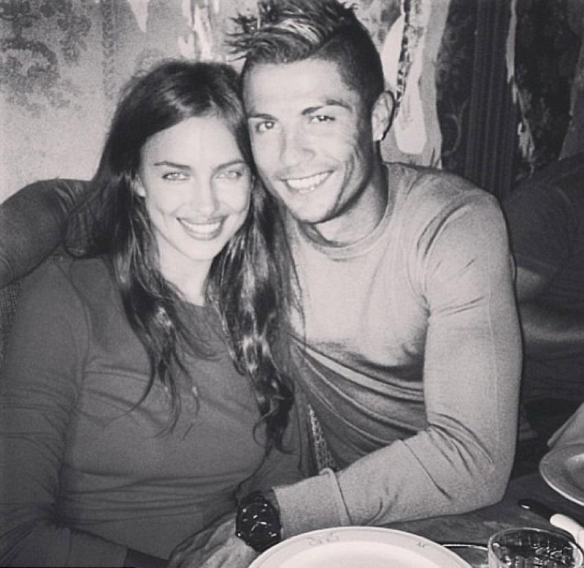 Irina Shayk i Cristiano Ronaldo (Instagram 2013)